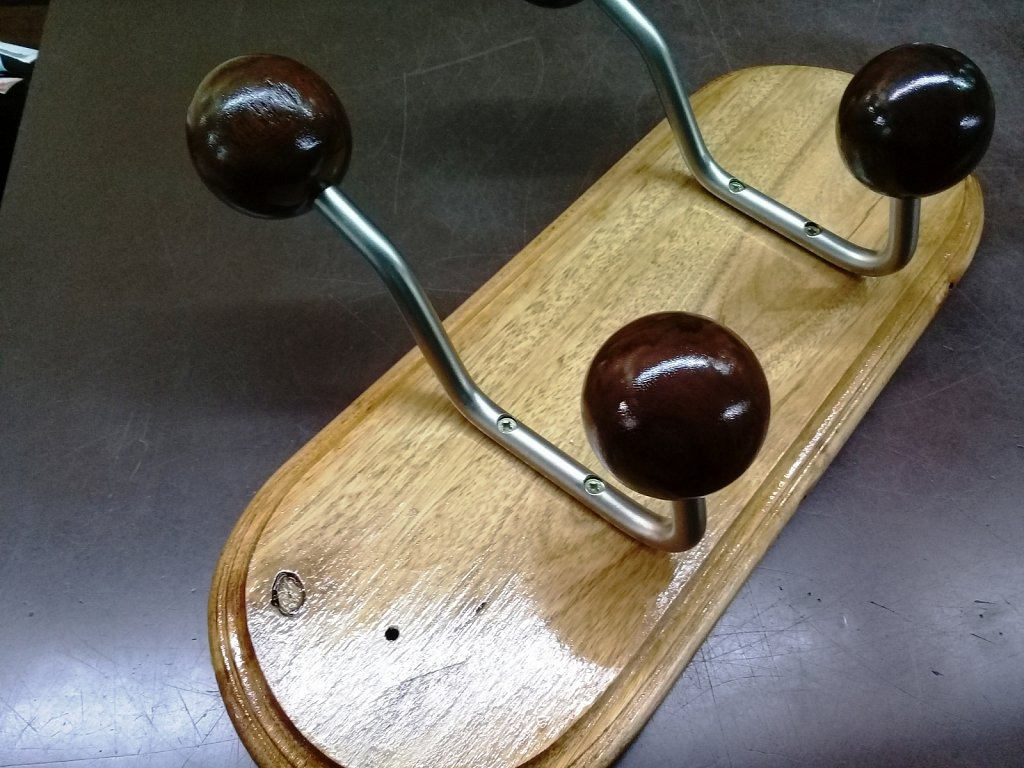Percheros artesanales