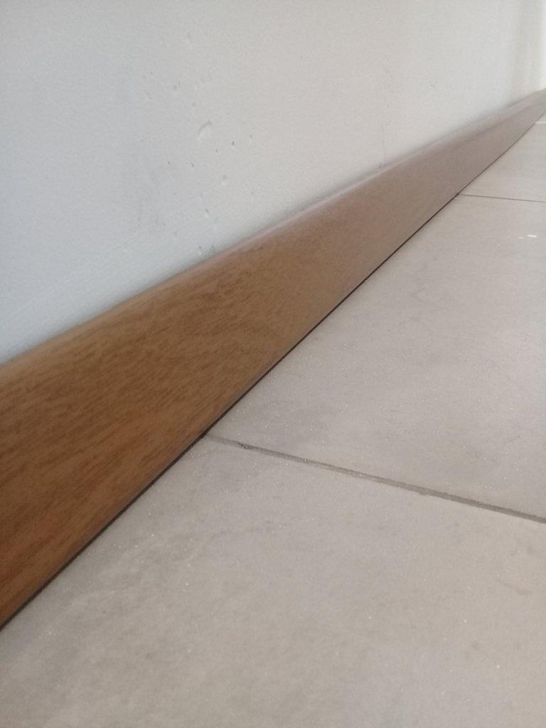 Zocalo PVC Simil Madera