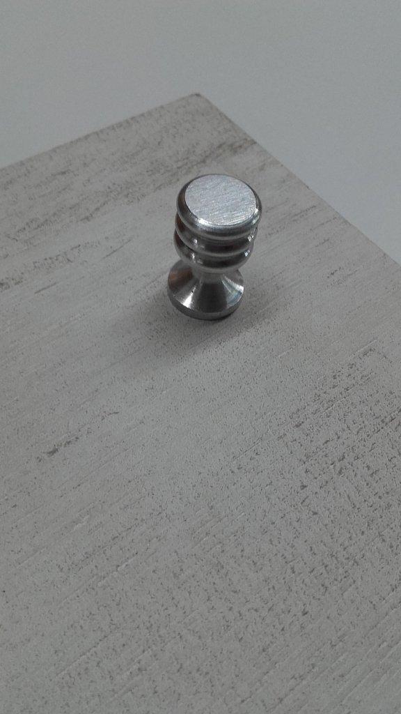 Tirador Aluminio 15mm